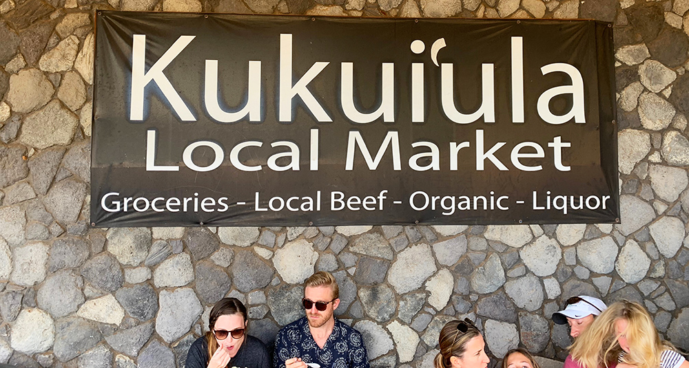 A secret juice bar is tucked inside this local market.