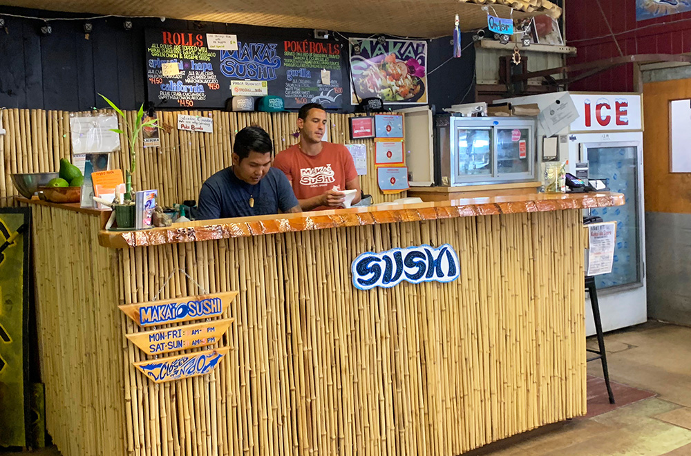 Makai Sushi is now a Top 100 eatery in the nation on Yelp.