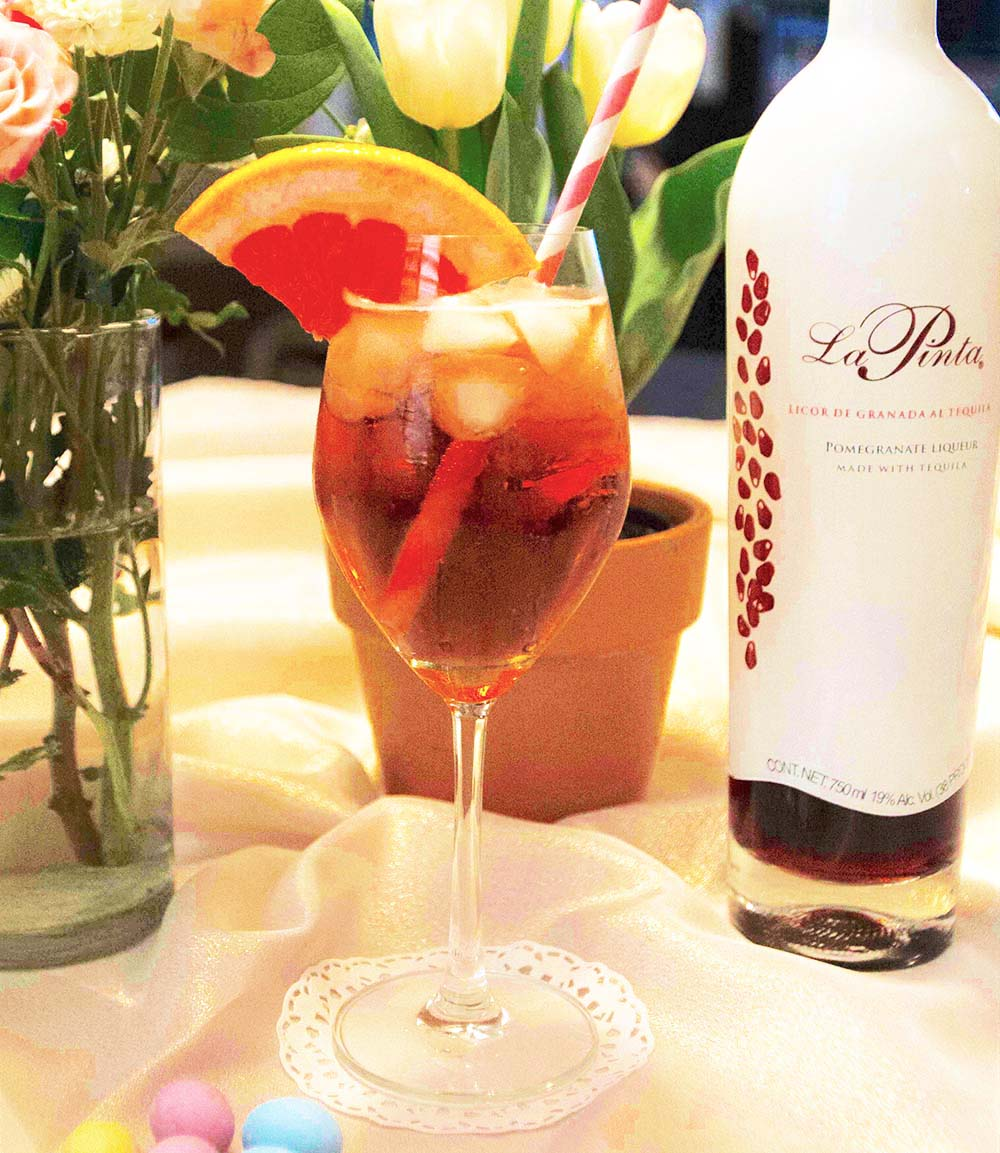 If you're looking for some cool Easter-themed libations for your holiday celebrations, The Food Channel has you covered. The Easter Sunday Spritzer is made with La Pinta made with Clase Azul Tequila.