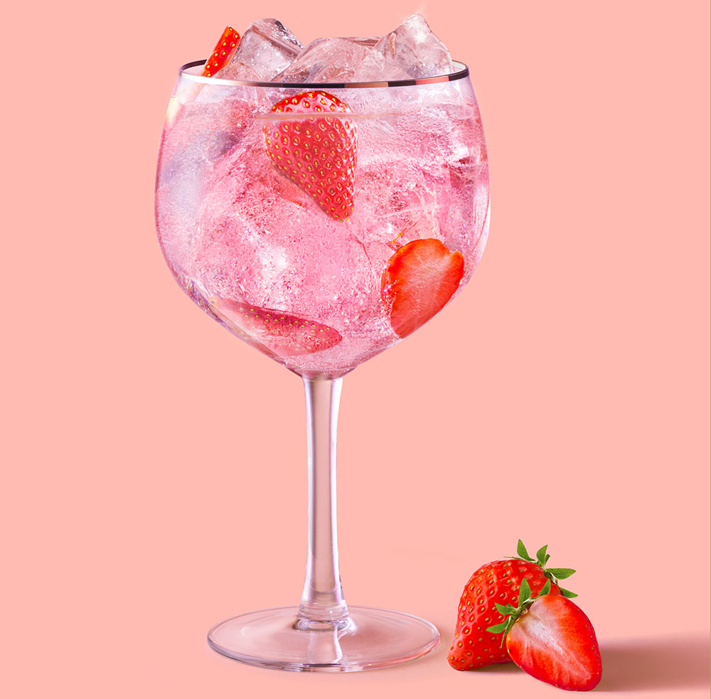 If you're looking for some cool Easter-themed libations for your holiday celebrations, The Food Channel has you covered. The Pink and Soda is made with Beefeater Pink.