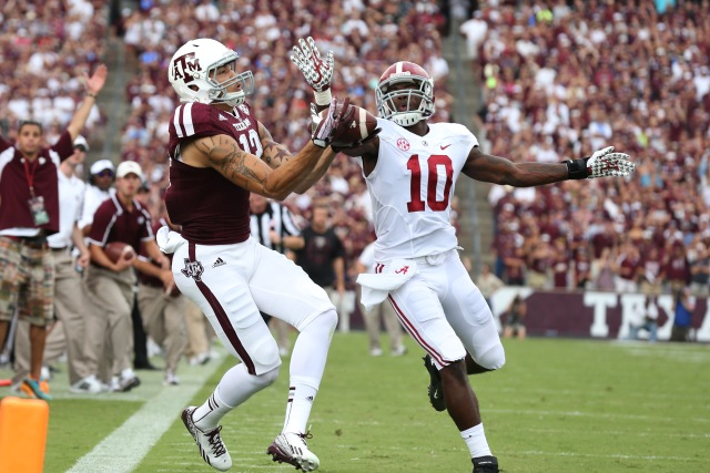 NCAA Football: Alabama at Texas A&M