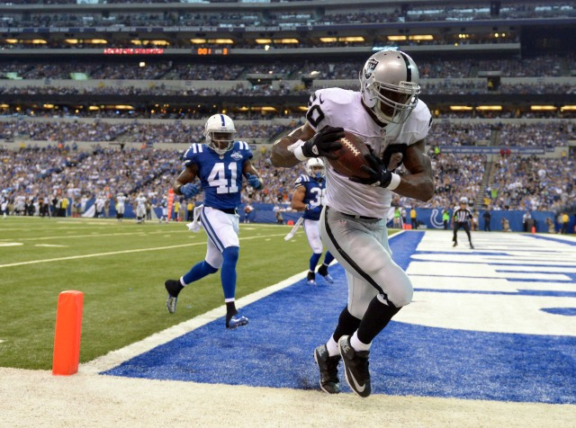 USP NFL: OAKLAND RAIDERS AT INDIANAPOLIS COLTS S FBN USA IN