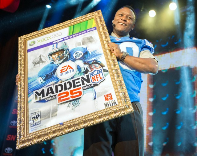 AP EA SPORTS MADDEN NFL 25 COVER REVEAL ON SPORTSNATION A ENT CPAENT USA NY