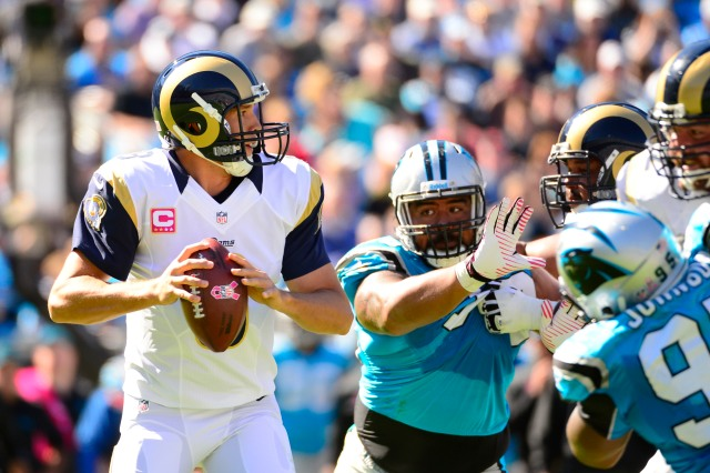 NFL: St. Louis Rams at Carolina Panthers