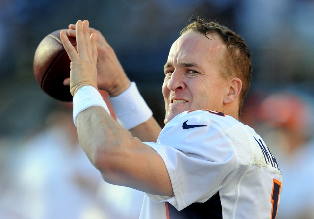 If Peyton Manning doesn't turn the ball over, the Broncos will win. (AP Photo/John Cordes)
