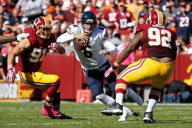 USP NFL: CHICAGO BEARS AT WASHINGTON REDSKINS S FBN USA MD