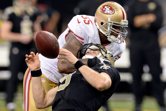 USP NFL: SAN FRANCISCO 49ERS AT NEW ORLEANS SAINTS S FBN USA LA