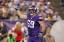 Minnesota Vikings defensive end Jared Allen.