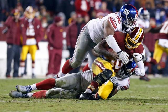 USP NFL: NEW YORK GIANTS AT WASHINGTON REDSKINS S FBN USA MD