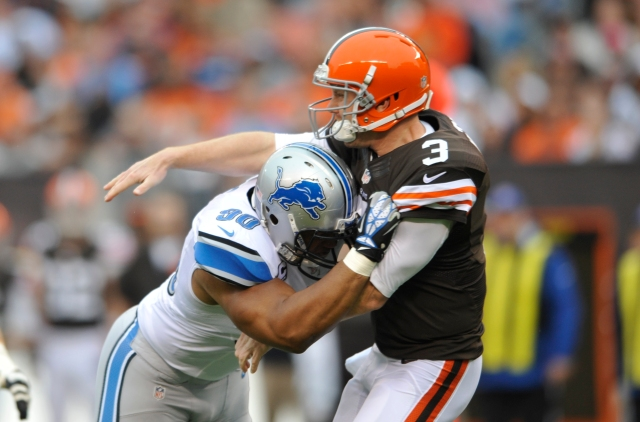 AP LIONS BROWNS FOOTBALL S FBN USA OH