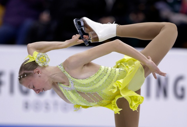 AP US CHAMPIONSHIPS FIGURE SKATING S FIG OLY USA MA