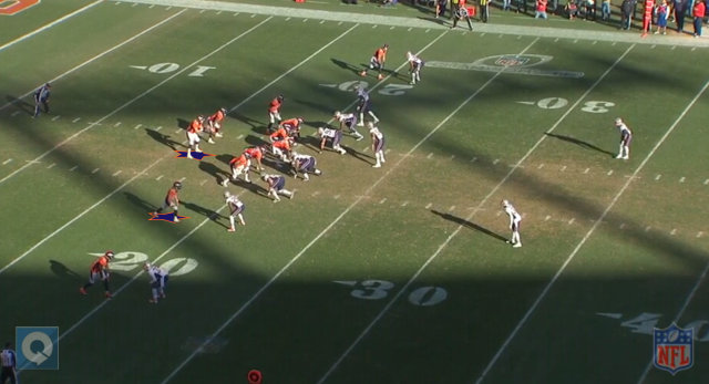 Spreading things out will help Peyton Manning identify favorable match-ups. Wes Welker will be targeted often agaisnt Seattle's interior defenders. Image courtesy of NFL Game Rewind.