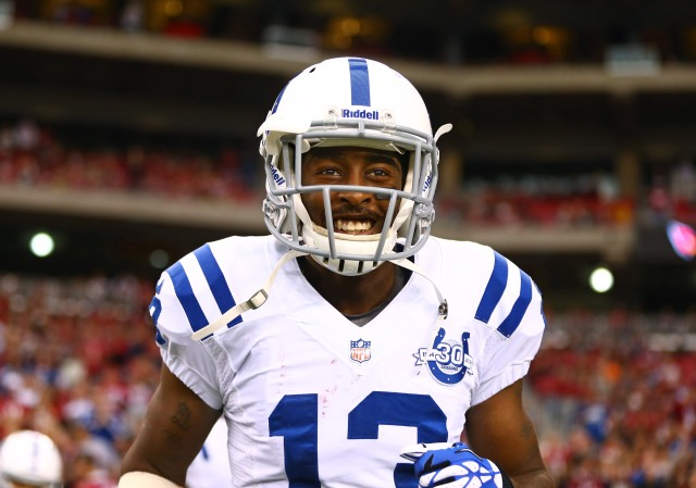 Keep an eye on T.Y. Hilton. Could be a breakout weekend for him. (Mark J. Rebilas-USA TODAY Sports)