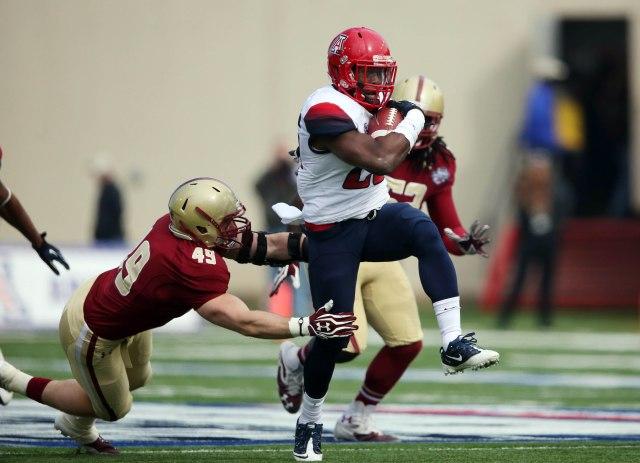 NCAA Football: AdvoCare V100 Bowl-Arizona vs Boston College