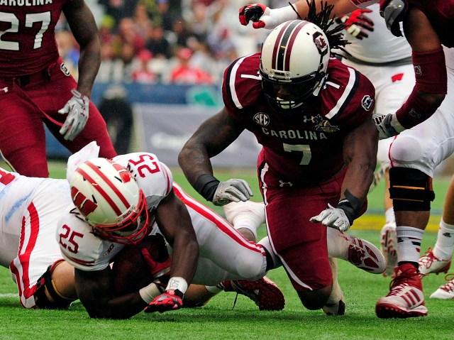 NCAA Football: Capital One Bowl-Wisconsin vs South Carolina