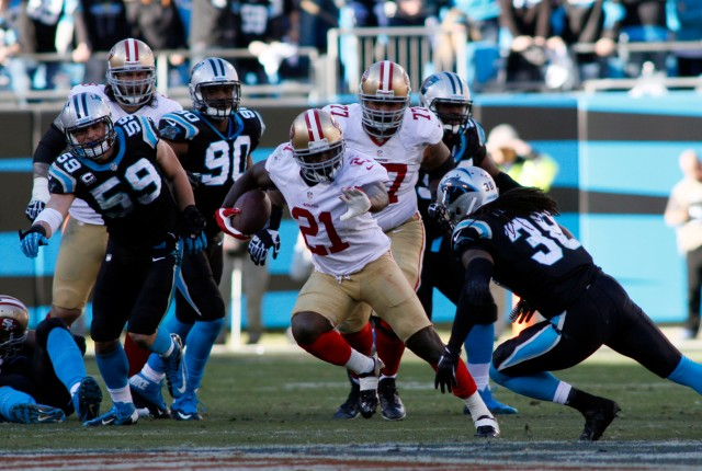 NFL: Divisional Round-San Franciso 49ers at Carolina Panthers