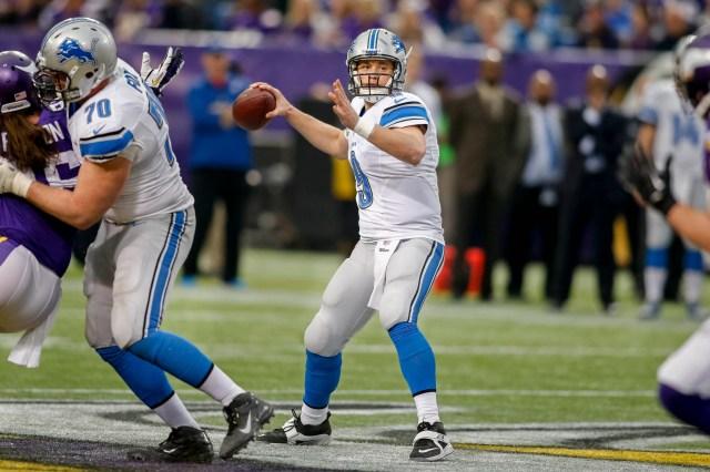 NFL: Detroit Lions at Minnesota Vikings
