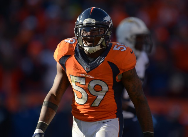 Danny Trevathan. (Kirby Lee-USA TODAY Sports)