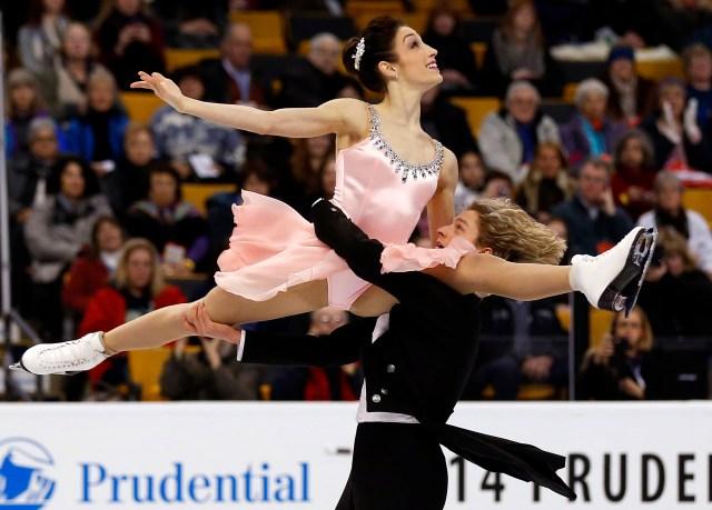 USP FIGURE SKATING: U.S. CHAMPIONSHIPS-SHORT DANCE S FIG USA MA