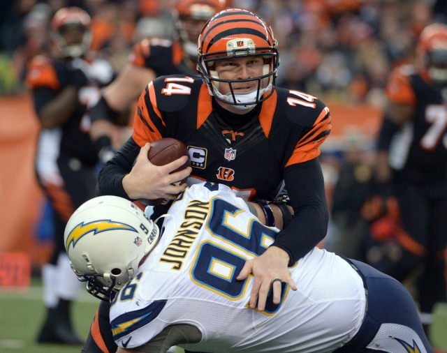 USP NFL: AFC WILDCARD PLAYOFF-SAN DIEGO CHARGERS A S FBN USA OH