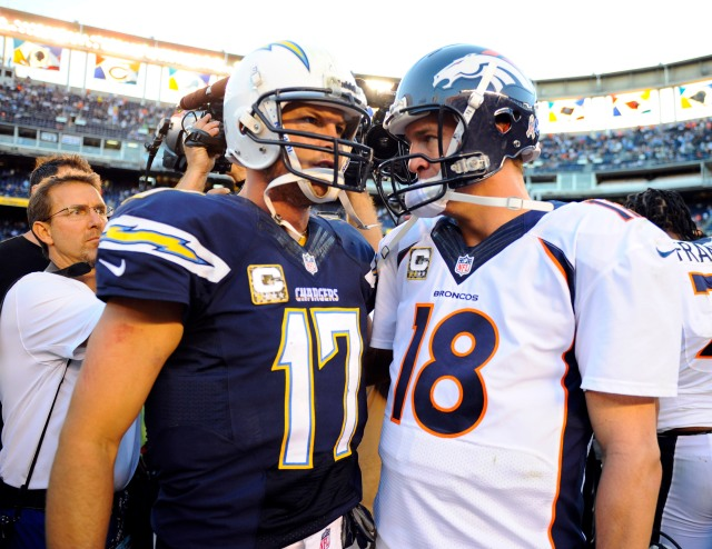 USP NFL: DENVER BRONCOS AT SAN DIEGO CHARGERS S FBN USA CA