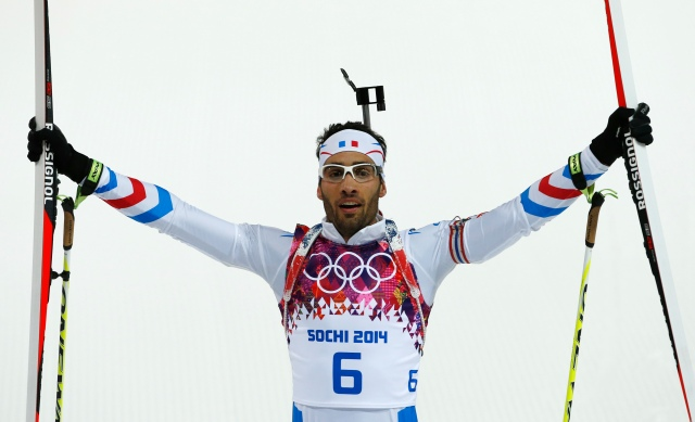 Martin Fourcade (AP Photo/Felipe Dana)