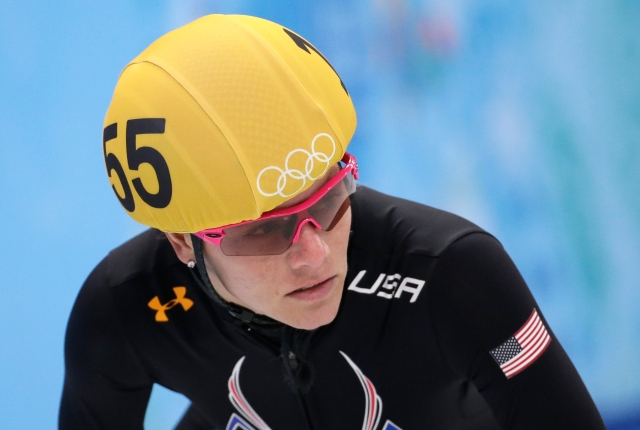 AP SOCHI OLYMPICS SHORT TRACK SPEEDSKATING S OLY SHO RUS