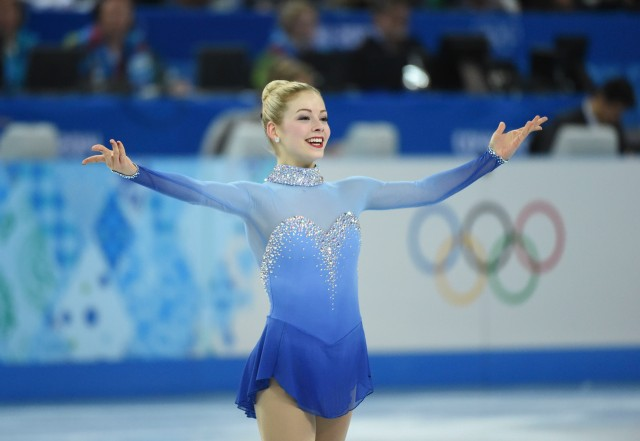Gracie Gold of the USA performs in the team ladies free skate during the Sochi 2014 Olympic Winter Games at Iceberg Skating Palace. (Robert Deutsch, USA TODAY Sports)