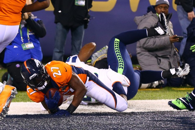 The Denver Broncos opened the Super Bowl in the most bizarre way. Scroll down for a complete recap. (Credit: Mark J. Rebilas-USA TODAY Sports)