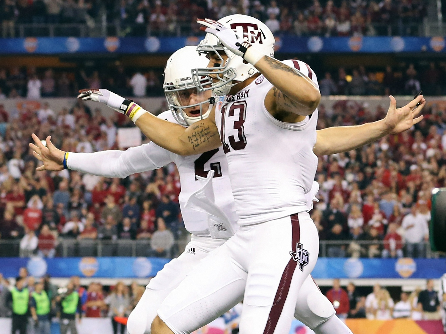 Texas A M Wr Doesn T View Manziel As A Prima Donna Usa Today Sports Wire