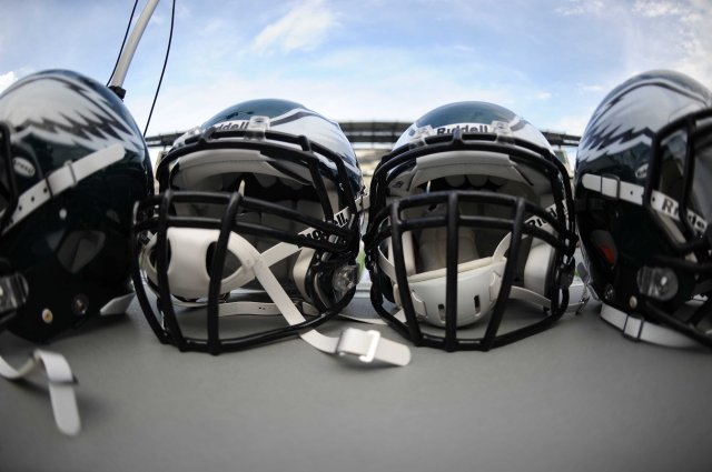 Do helmets protect players from concussions? (Joe Camporeale-USA TODAY Sports)