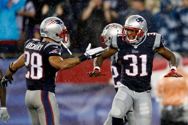 The Patriots need help at cornerback whether or not Aqib Talib is re-signed. (Credit: Greg M. Cooper - USA TODAY Sports)