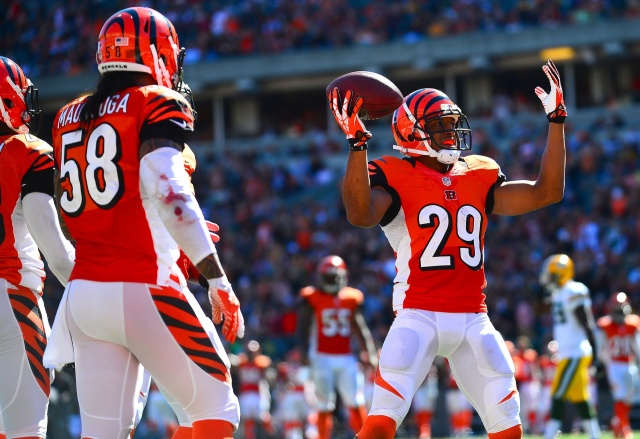 What will the Cincinnati Bengals do to improve their secondary? (Andrew Weber - USA TODAY Sports)