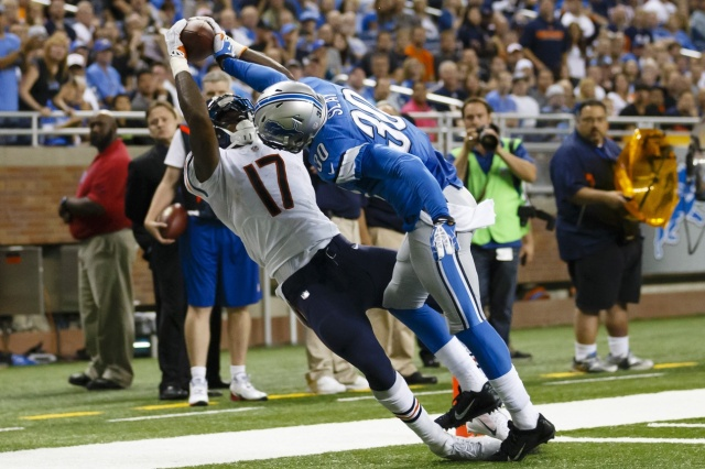 The selection of Darius Slay in the third round of the 2013 NFL draft was a step in the right direction, but the Lions need more help at cornerback. (Rick Osentoski - USA TODAY Sports)