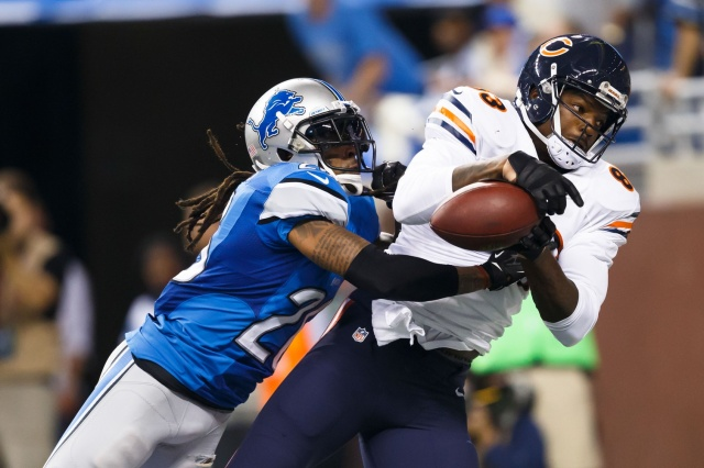 The Lions decided to cut Louis Delmas in order to save $6 million. (Rick Osentoski - USA TODAY Sports)