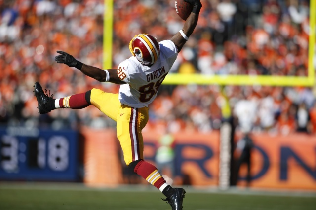 Redskins WR Pierre Garcon needs some help after finish with a league-high 184 targets. (Credit: Chris Humphreys - USA TODAY Sports)