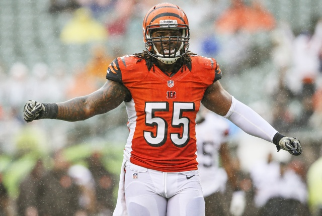 Vontaze Burfict is a Pro Bowl-caliber player, but the Bengals need to get more athletic at linebacker. (Kevin Jairaj - USA TODAY Sports)