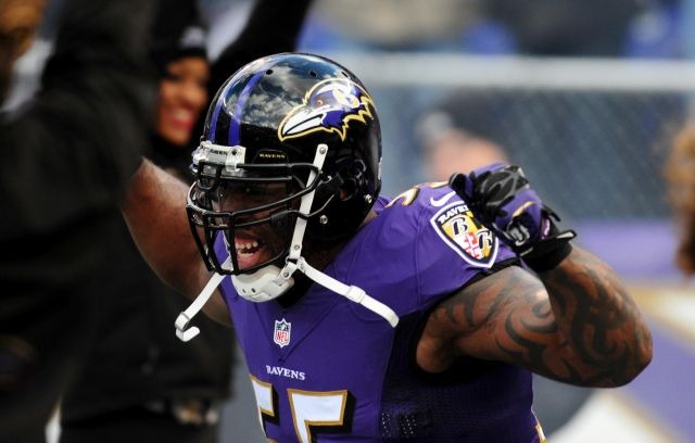 Terrell Suggs may have played his last game for the Ravens. Evan Habeeb-USA TODAY Sports