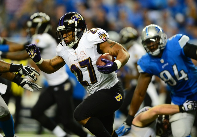 Ray Rice (Andrew Weber-USA TODAY Sports)
