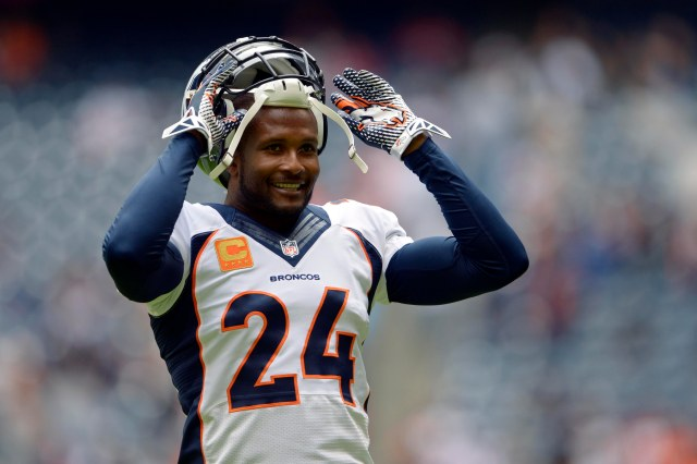 With his skills in decline, Champ Bailey will have to take a pay cut to stay in Denver. Thomas Campbell-USA TODAY Sports