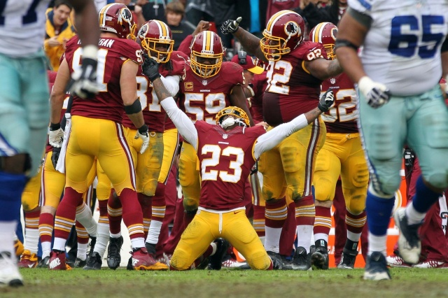 After six up and down seasons, DeAngelo Hall's time with the Washington Redskins may be at an end.  (Credit: Geoff Burke - USA TODAY Sports)