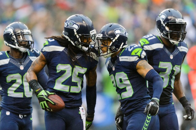 "The ""Legion of Boom"" is difficult to duplicate. (Credit: Steven Bisig - USA TODAY Sports)"