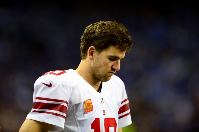 McAdoo's biggest job may be  getting Eli Manning to cut down on turnovers. Andrew Weber-USA TODAY Sports.