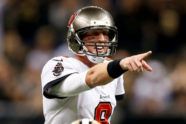 Tampa Bay Buccaneers quarterback Mike Glennon against the New Orleans Saints. (Derick E. Hingle - USA TODAY Sports)