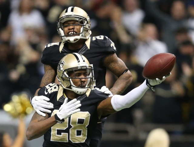 The News Orleans Saints' cornerbacks played at a much higher level in 2013 than the previous season, but the team still lacks depth in the secondary. (Crystal LoGiudice - USA TODAY Sports)