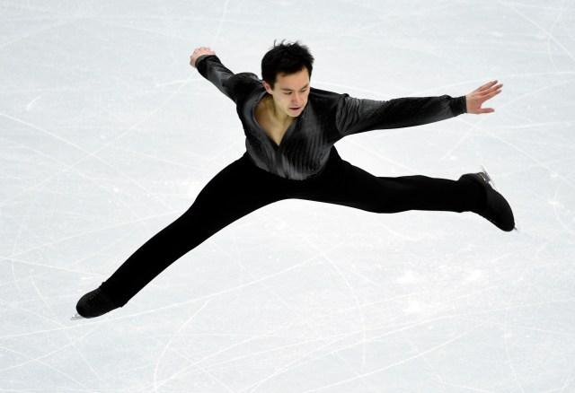 Olympics: Figure Skating-Team Men Short Program