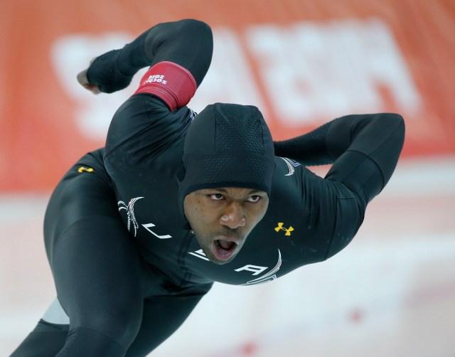 Olympics: Speed Skating Men's 500m
