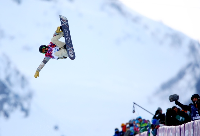 Olympics: Snowboarding-Men's Halfpipe Qualification