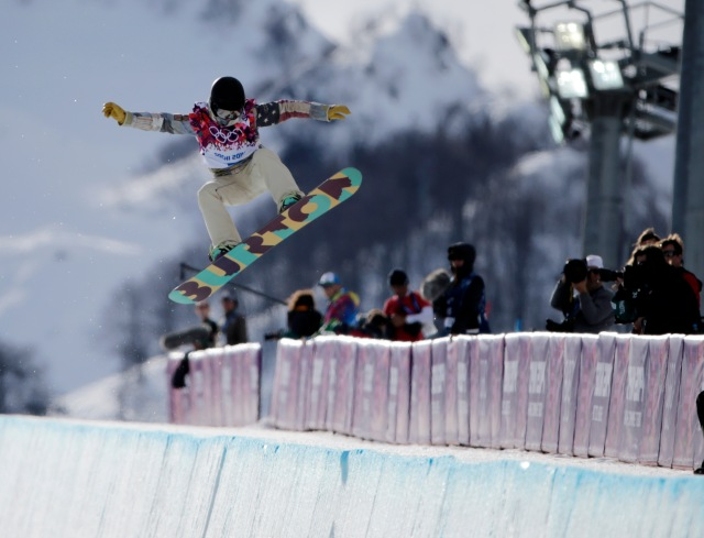 Olympics: Snowboarding-Ladies' Halfpipe Qualification