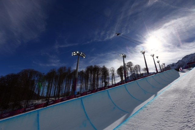 The halfpipe is again causing Olympics organizers issues. (Guy Rhodes, USA TODAY Sports)
